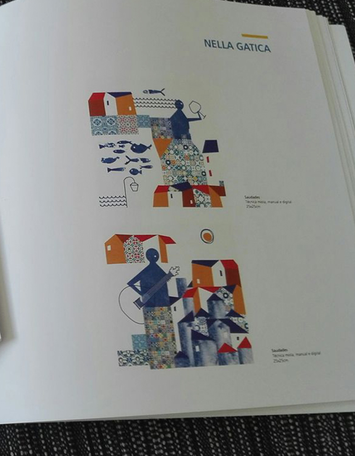 Nella Gatica - Author and illustrator